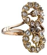 Ring Vintage Rose Cut Diamond