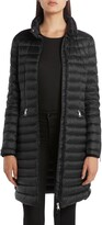 Moncler Sable Lightweight Down Quilted Puffer Coat