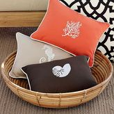 Icon Embroidered Outdoor Pillows