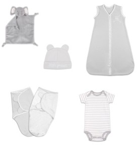 The Peanut Shell The Baby Unisex Essentials Gift Set, 6-Piece
