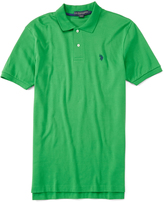 U.S. Polo Assn. Celadon Interlock Polo