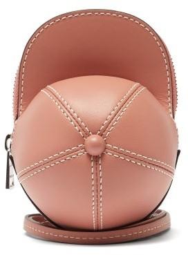 J.W.Anderson Cap Nano Leather Cross-body Bag - Light Pink