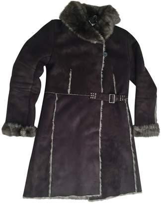 Gerard Darel Brown Faux fur Coat for Women