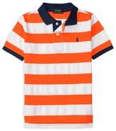 Ralph Lauren Boys' Striped Mesh Polo Shirt - Sizes 2-7