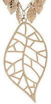 Jessica Simpson As Is Leaf Collection Necklace with Leaf Pendant