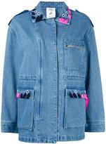 SteveJ & YoniP Steve J & Yoni P - Moi et Toi denim jacket - women - Cotton - S