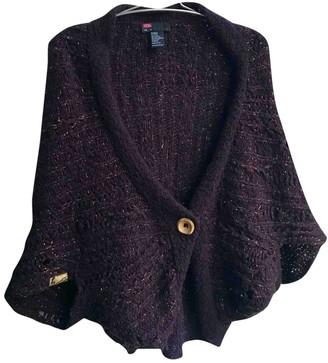 Diesel Purple Wool Knitwear for Women