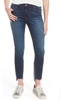BP Women's Patch Detail Step Hem Skinny Jeans