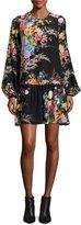 No.21 No. 21 Atanacia Floral-Printed Silk Dress