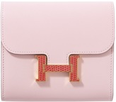 Hermes Constance leather wallet