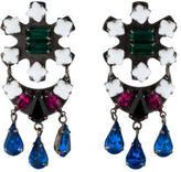 Dannijo Crystal Drop Earrings