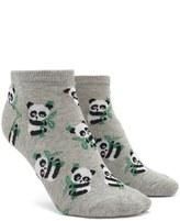 Forever 21 FOREVER 21+ Panda Ankle Socks