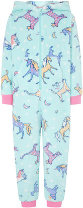 Under Armour Unicorn Sleepsuit with Recycled Fabric Blue