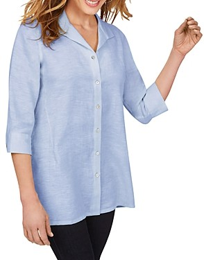 Foxcroft Stirling Non Iron Linen Tunic