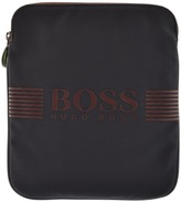 BOSS GREEN Pixel Shoulder Bag Navy