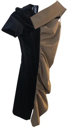 Jacquemus L'Enfant du Soleil Black Wool Dresses
