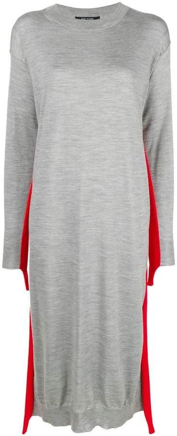 Sofie D'hoore stripe detail sweater dress