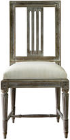 Ave Home Aria Dining Chair, Whitewash