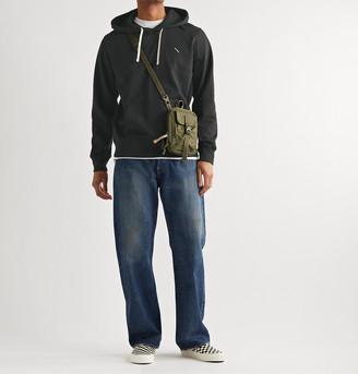 Saturdays NYC Ditch Slash Logo-Embroidered Cotton-Jersey Hoodie