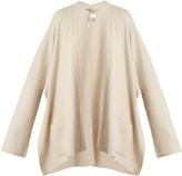 QUEENE AND BELLE Oversized drop-shoulder cashmere cardigan