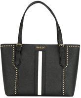 Bally stripe front tote bag