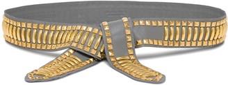 Alberta Ferretti Belt With Studs