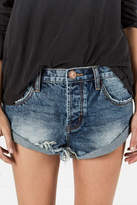 One Teaspoon Dusty Blue Bandits Shorts