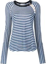 Derek Lam 10 Crosby striped longsleeved T-shirt