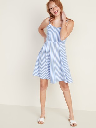 Old Navy Striped Fit & Flare Cami Mini Dress for Women