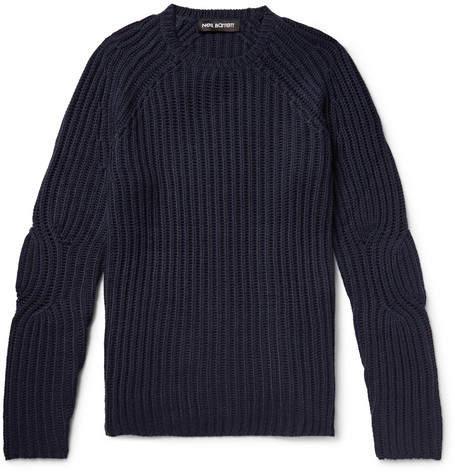 Neil Barrett Ribbed Wool-Blend Sweater