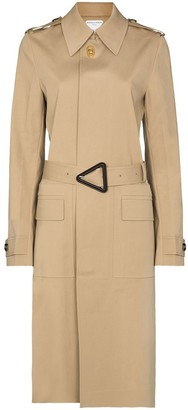 Bottega Veneta Single-Breasted Trench Coat