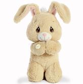 """Aurora World """"10"""""""" Floppy Prayer Bunny Plush Toy"""""""
