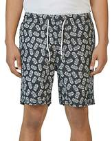 Barney Cools Amphibious Pineapple Swim Trunks