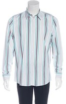 Gucci Striped Embroidered Shirt