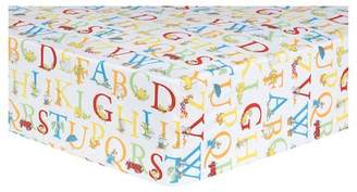 Trend Lab Dr. Seuss by Fitted Crib Sheet - ABC