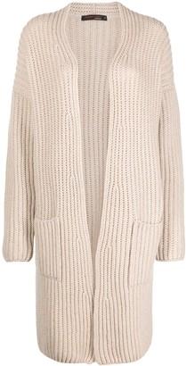 Incentive! Cashmere Open-Front Cashmere Cardi-Coat