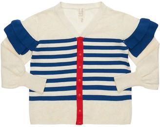 Tia Cibani Cotton Knit Cardigan
