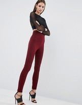 Asos Leggings with Rib Panels