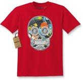 Expression Tees Kids Sugar Skull FLORAL T-Shirt