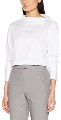 Seidensticker Women's 123527 Regular Fit Long Sleeve Blouse - White - 8