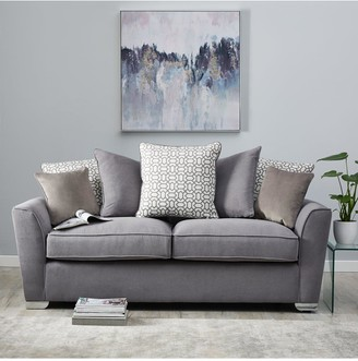 Links Fabric 3 Seater+ 2 Seater Scatter Back Sofa Set