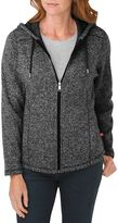 Dickies Women's Hooded Sweater Jacket