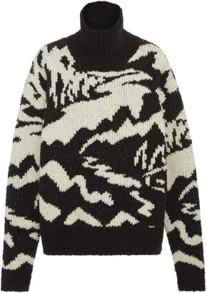 Missoni Long Sleeve Mock Sweater Neck
