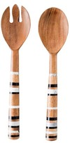 Juliska Stonewood Stripe Salad Servers
