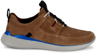 Cole Haan Grandsport Apron Suede Sneakers
