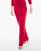 Chico's Travelers Classic No Tummy Pants in Sultry Red