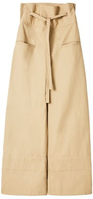 Loewe Cotton Turned-Up Trousers