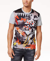 Versace Men's Graphic Tiger Print T-Shirt
