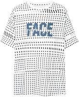 Facetasm logo polka-dot T-shirt