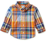 Ralph Lauren Baby Boys 3-24 Months Plaid Long-Sleeve Poplin Shirt